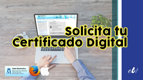 como solicitar el certificado digital por internet