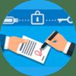 icono firma digital de documentos