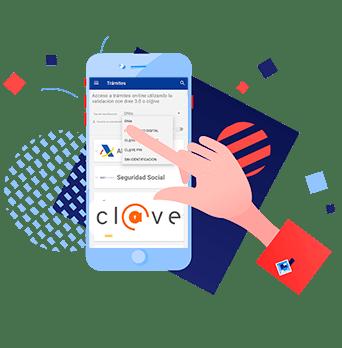 acceso con Clave Permanente en la App Entre Trámites