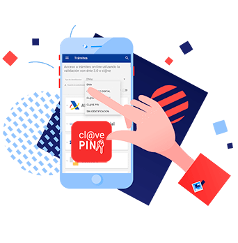 acceso con Clave PIN en la App Entre Trámites