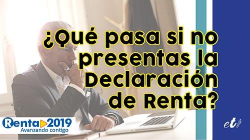 Se vence el plazo para la Declaración de la Renta: ¿qué pasa si no la presento?